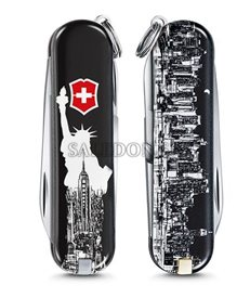 vypredané - Victorinox 0.6223.L1803 New York vreckový nôž