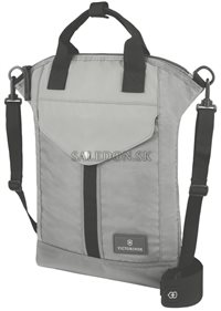 Taška na notebook cez rameno Slimline Vertical Laptop Tote 32389704 sivá