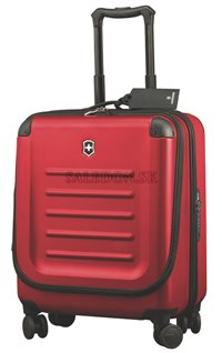 Kufor na kolieskach Dual Access Extra Capacity Carry-On 31318103 červený