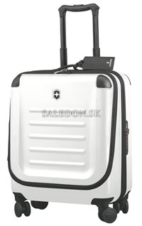 Kufor na kolieskach Dual Access Extra Capacity Carry-On 31318102 biely