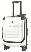 Kufor na kolieskach Dual Access Global Carry-On 31318002 biely