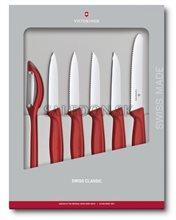 Victorinox 6.7111.6G sada nožov Swiss Classic so škrabkou