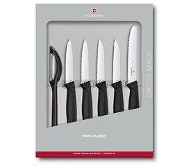 Victorinox 6.7113.6G sada nožov Swiss Classic so škrabkou