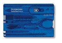 Victorinox 0.7122.T2 SwissCard Classic Sapphire